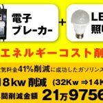 ◆法人への電気料金削減提案◆電子ブレーカー・LED照明の販売・導入【代理店】