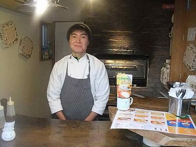 イタリアン食堂 焼きたてPizza910 工藤 オーナー