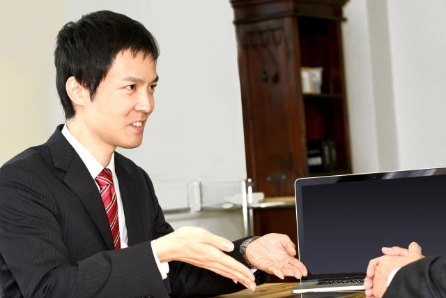 日本システム株式会社 システム営業 イメージ